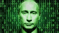 Cyber Putin (photo illustration for education only)