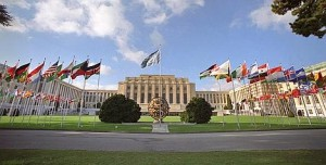 UN Geneva Palais de Nations (Courtesy photo for education only)