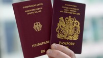 German and British passports (Courtesy photo for education only)