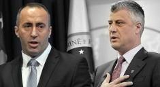 Ramus Haradinaj and Hashim Thaci of Kosovo (Courtesy photo for education only)