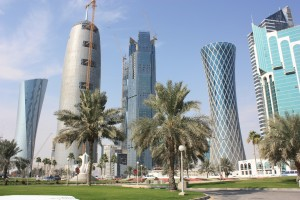 Doha capital of Qatar is growing fast (Courtesy photo for education only)