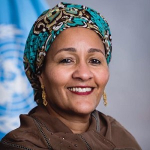 Amina J. Mohammed UN Deputy Secretary General (Twitter photo)