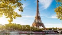 Paris Eiffel Tower (Travel public domain photo - for education only)