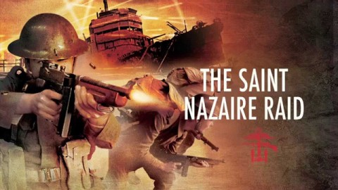 St. Nazaire Raid film  placate (Photo for education only)