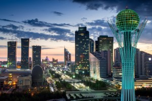 Astana modern urban images of 21st century (Courtesy photo public domain - for education only)
