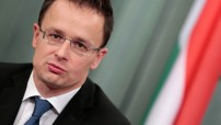 Hungary's Foreign Minister Peter Szijjarto (Photo file for education only)