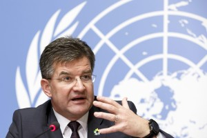 Miroslav Lajcak, Geneva, October 2017 (UN photo for education only)