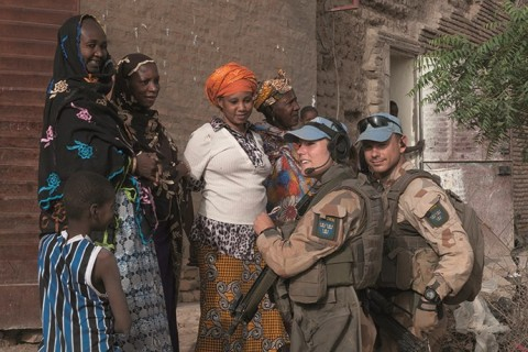 Sweden and the UN. We build peace. Credit: Jonas Svensson, Swedish Armed Forces