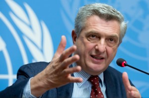Filippo Grandi High Commissioner for UNHCR (Courtesy UNHCR photo)