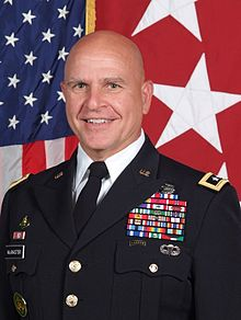 General H.R. McMaster National Security Adviser in the Trump Administration (Photo Wikipedia)