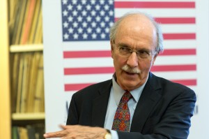 Ambassador John Shattuck (Photo courtesy of CEU Budapest - for education only)