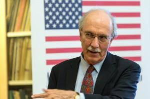 Ambassador John Shattuck (Photo courtesy of CEU Budapest - for education only)