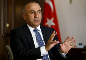 Turkey's Foreign Minister Mevlut Cavusoglu 2016 (Photo midleeastpress for education only)
