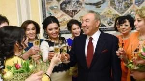 Ahead of the International Women's Day President Nursultan Nazarbayev hosted a meeting with outstanding women of Kazakhstan (photo Kazpravda.kz)
