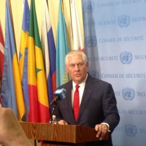 US Secretary of State Rex Tillerson at the UN 15 December 2017 (Photo by Erol Avdovic - Webpublicapress)