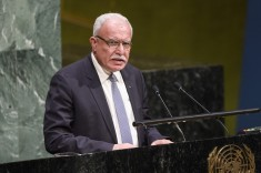 Riad Al-Malki, Foreign Minister of the Palestinian National Authority, addresses the General Assembly during its Tenth Emergency Special Session on the illegal Israeli actions in Occupied East Jerusalem and the rest of the Occupied Palestinian Territory. (UN photo by Manuel Elias)