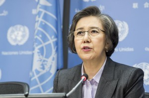 Yanghee Lee, a UN special rapporteur (UN photo - un.org)