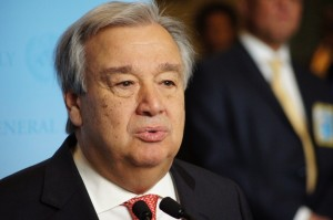Antonio Guterres  UN Secretary General (12 December 2016 photo by Erol Avdovic Webpublicapress)