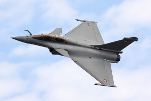 'Rafale B', French Air Force combat jets. (IPS photo - Wikipedia Eng.)
