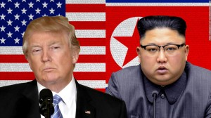 President Donald Trump and North Korean chairman Kim Jong-un (Photo montage for education only - file 2018)