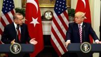 President Erdogan and president Trump (Courtesy TV image for education only=