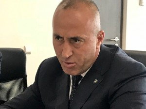 Prime minister of Kosovo Mr. Ramush Haradinaj says Kosovo deserves to become member state of the United Nations - talking to the foreign journalists in Pristina, June 2018 (Photo by Erol Avdovic Webpublica New York)