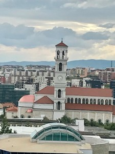 Pristina new catholic cathedral (Photo by Webpublica Erol Avdovic, june 2018)
