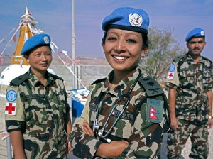 UN peacekeeping (UN photo for education only)