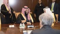 Prince Mohammed bin Salman Al Saud, Crown Prince of the Kingdom of Saudi Arabia. 27 March 2018 United Nations, New York (UN Photo/Eskinder Debebe)