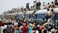 Over populated in India (Courtesy photo for education only - forbidden for commercial use photo)