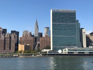 UN Headquarters in New York at East River (photo by Erol Avdovic - Webpublica UN)