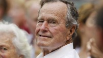 George H. W. Bush 41.president of USA (Courtesy photo for education only - nbc/image)