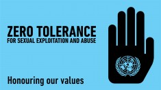 UN Zero Tolerance on sexual abuse - placate (WPP file)