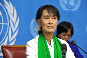 Aung San Suu Kyi in Geneva 2012 (UN Photo Violaine Martin)