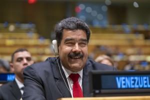 Nicolas Maduro of Venezuela at UN General Assembly September 2018 (UN Photo by Cia Bak)