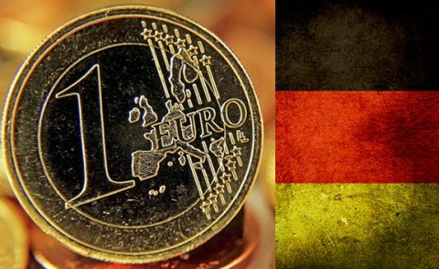 Euro and Germany (Photo File for education only)
