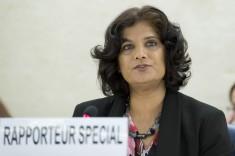 Urmila Bhoola, UN Special Rapporteur on Contemporary Forms of Slavery UN photo by Jean-Marc Ferre