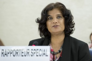 Urmila Bhoola, UN Special Rapporteur on Contemporary Forms of Slavery UN photo by Jean-Marc Ferre