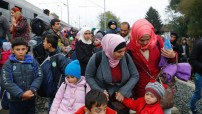 Syrian migrants in Croatia October 2015 (Courtesy photo for education only)