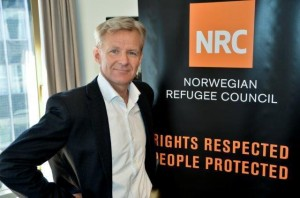 Secretary General of the Norwegian Refugee Council Jan Egeland (Courtesy photo for education only)