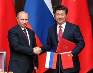Vladimir Putin and Xi Jinping - Russia and China alliance (Courtesy photo for education only)