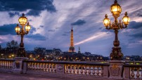 Paris at night (Courtesy photo for education only)