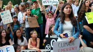 Young people warns on  climate emergency (Courtesy photo for education only)
