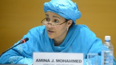 Amina Muhammed deputy secretary-general of the United Nations (Courtesy photo for education only).