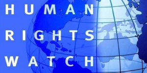 Human Rights Watch, logo (public domain - for education only)