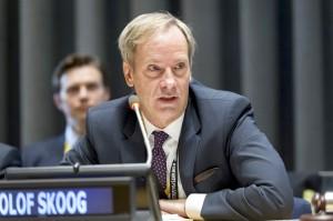 Olof Skoog (Credit UN photo Nick Bajronas)