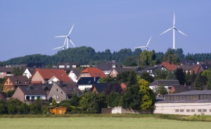 Windmill generators in Germany (Courtesy photo for education only)