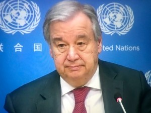 UN Secretary General Antonio Guterres UN 4 February 2020 WPP photo