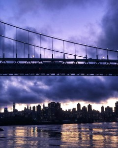 Dark clouds over Manhattan in NYC (Photo by dr. Hajat Avdovic)