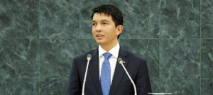 Andry Nirina Rajoelina, the Presidentof Madagascar, pictured at United Nations (UN photo by Ryan Brown)